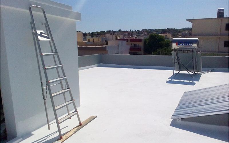 Θερμομόνωση και στεγανοποίηση σε ταράτσα με το σύστημα για μονώσεις ταρατσών light roof