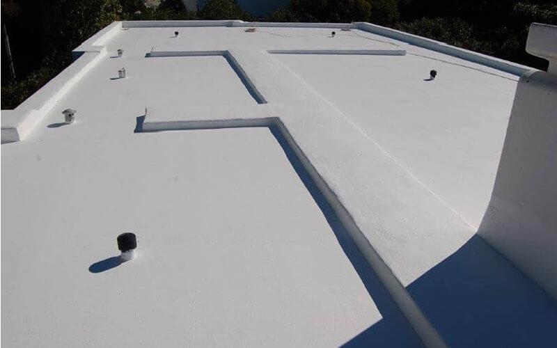 Ταράτσα που έχει μονωθεί με το σύστημα για μονώσεις ταρατσών durosol light roof