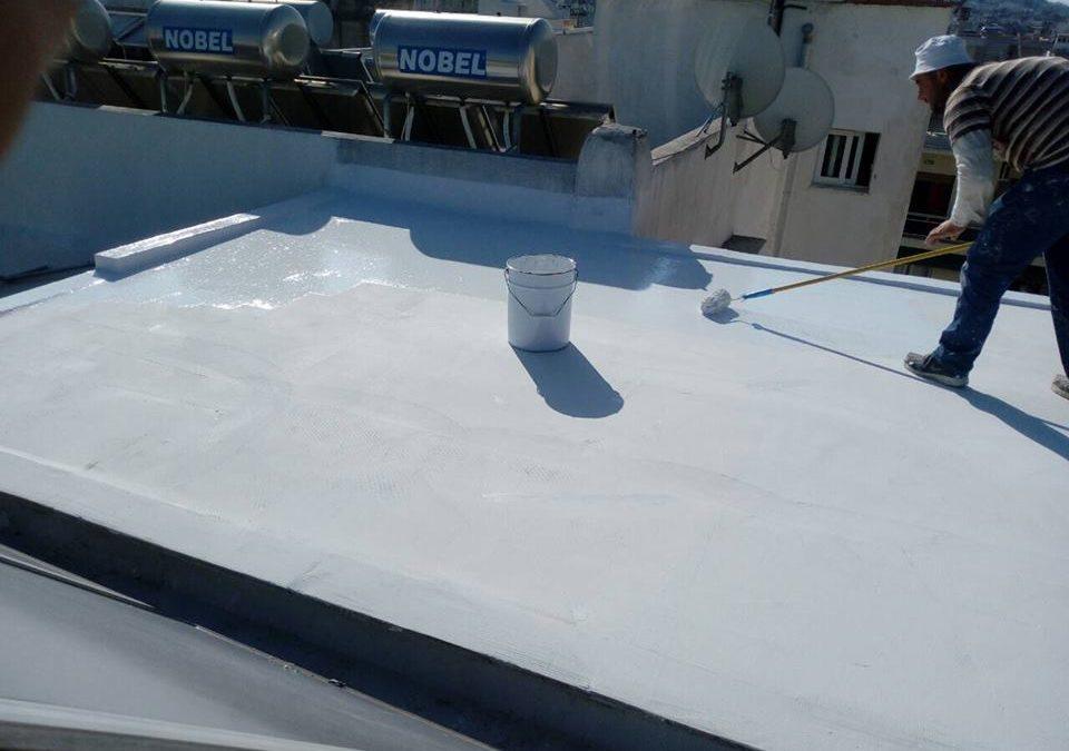Μόνωση Ταράτσας Light Roof Στου Γκύζη
