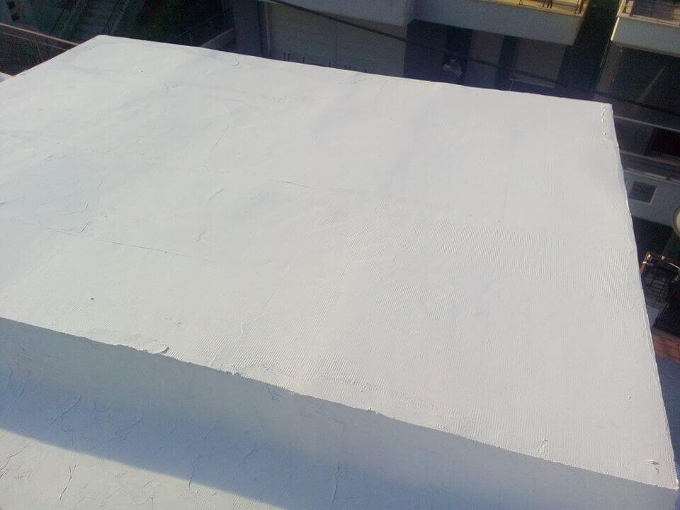 Εφαρμογή συστήματος μόνωσης Durosol Light Roof.