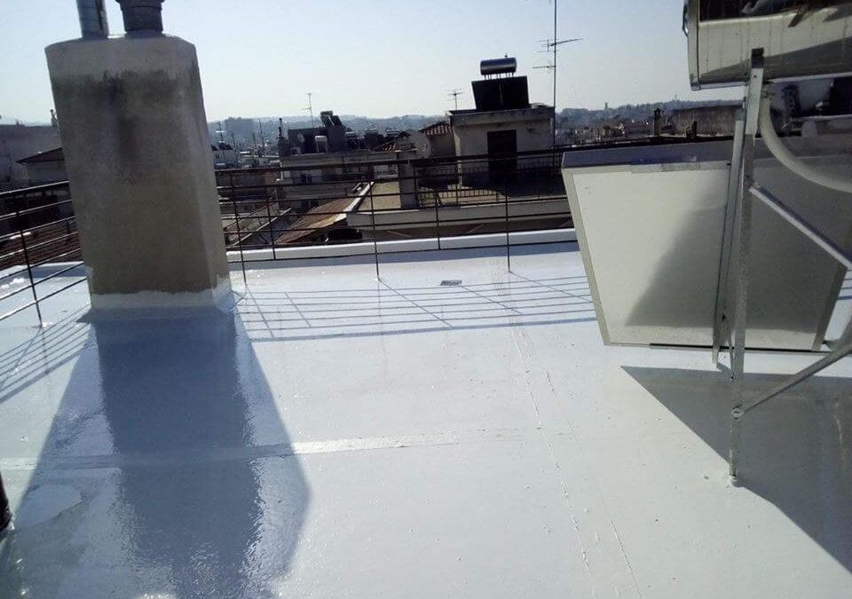 Μόνωση Ταράτσας Light Roof Στη Θεσσαλονίκη