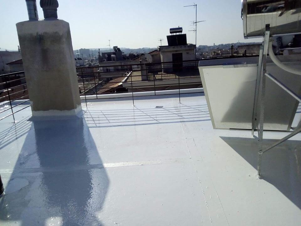 Μόνωση ταράτσας με το σύστημα Light Roof. Ελαφριά μόνωση με εξαιρετικές θερμομονωτικές ιδιότητες.